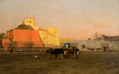 Thomas Allen: Evening Market