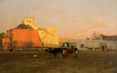 Thomas Allen: Evening Market