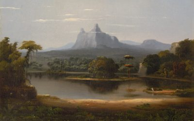 "Robert Seldon Duncanson ""Landscape"""