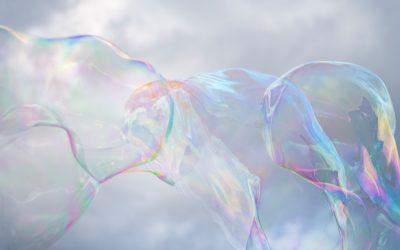Rainbow Bubble Sculptures